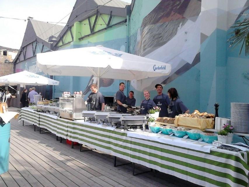 Catering Buffet für 250 Gäste