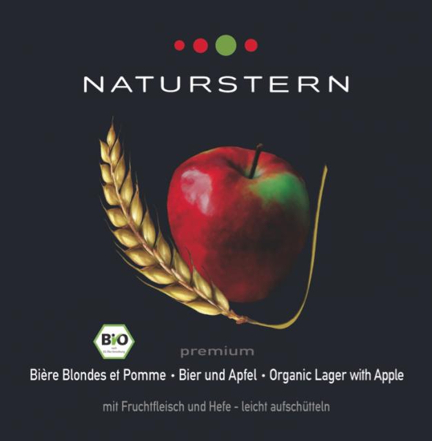 Naturstern Bier und Apfel - Premium Mischgetränk