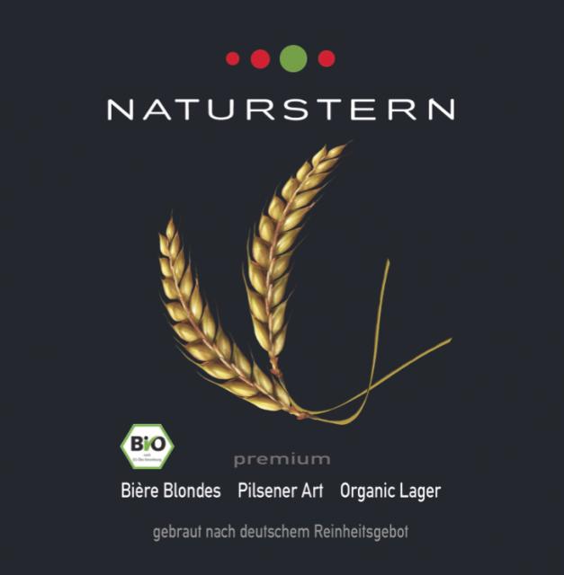 Naturstern Premium Bio-Bier- Pilsener Art