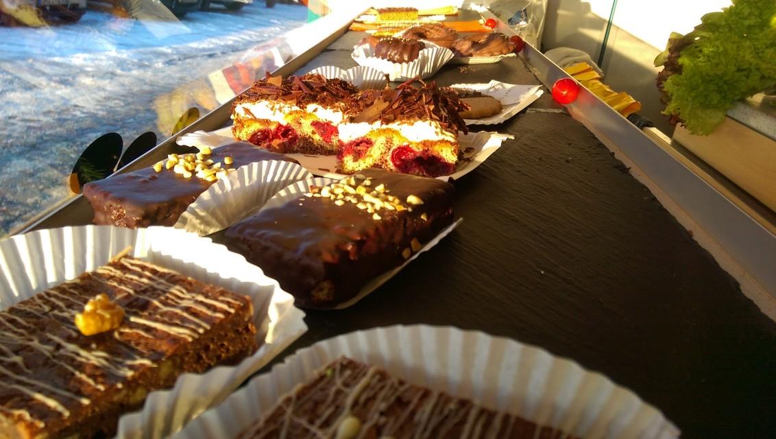 Kuchen-Theke