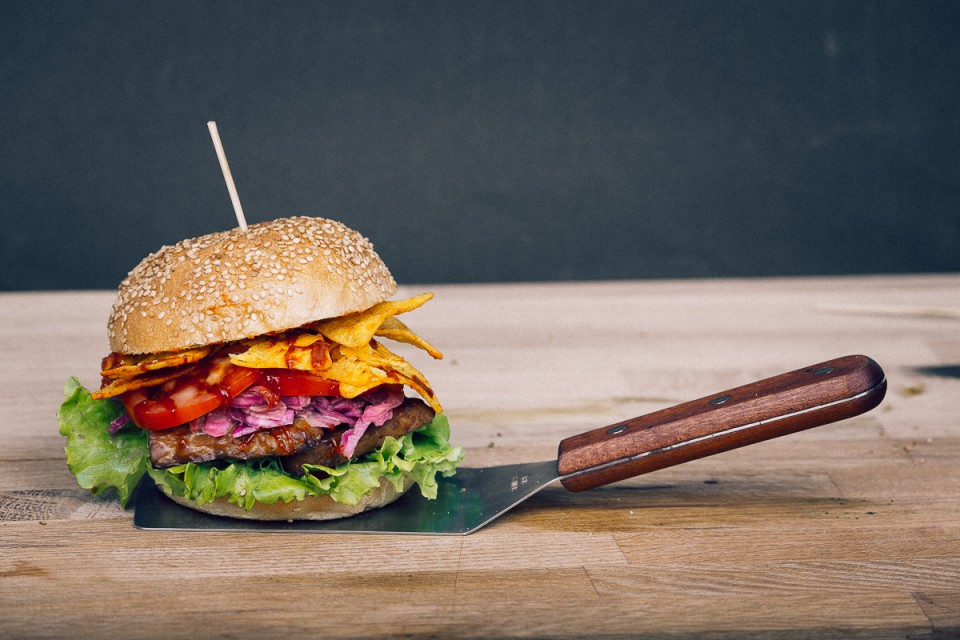 The Tempting Tempeh Burger