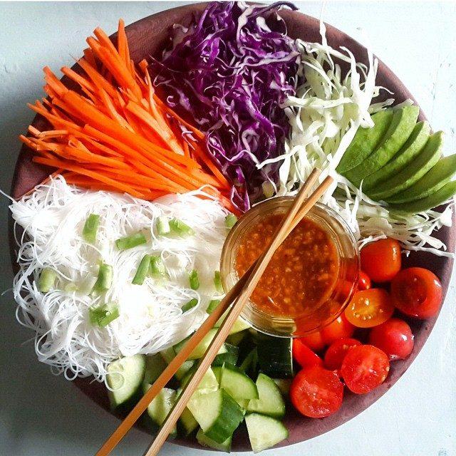Salat  - immer frisch zubereitet