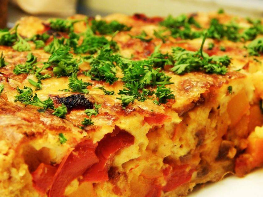 Quiche, Flammkuchen, Gemüsetorte