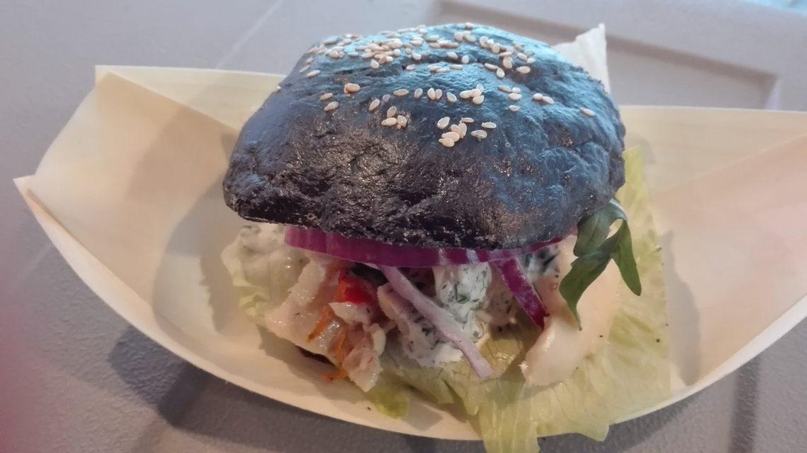 Backfisch-Burger