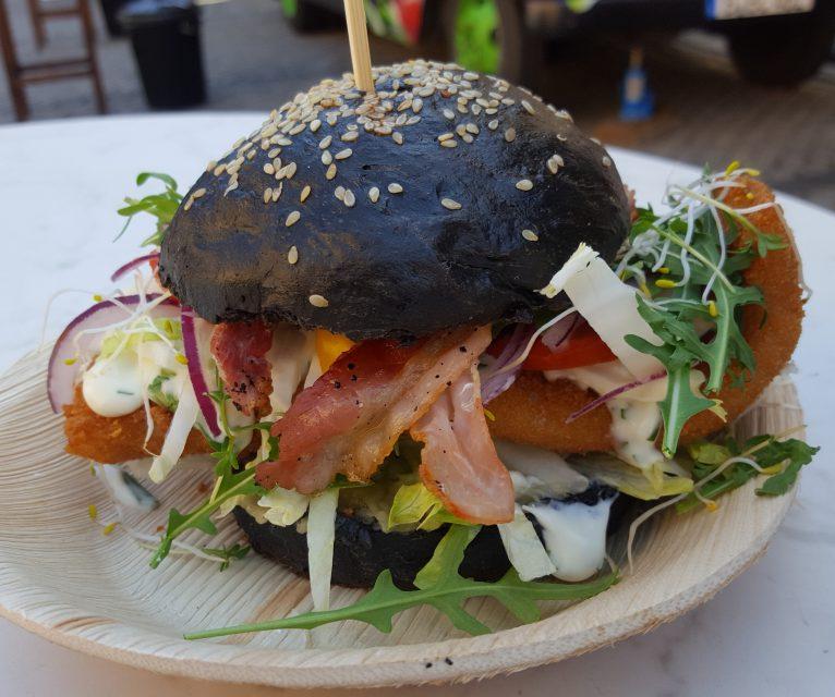 Backfisch-Burger Deluxe