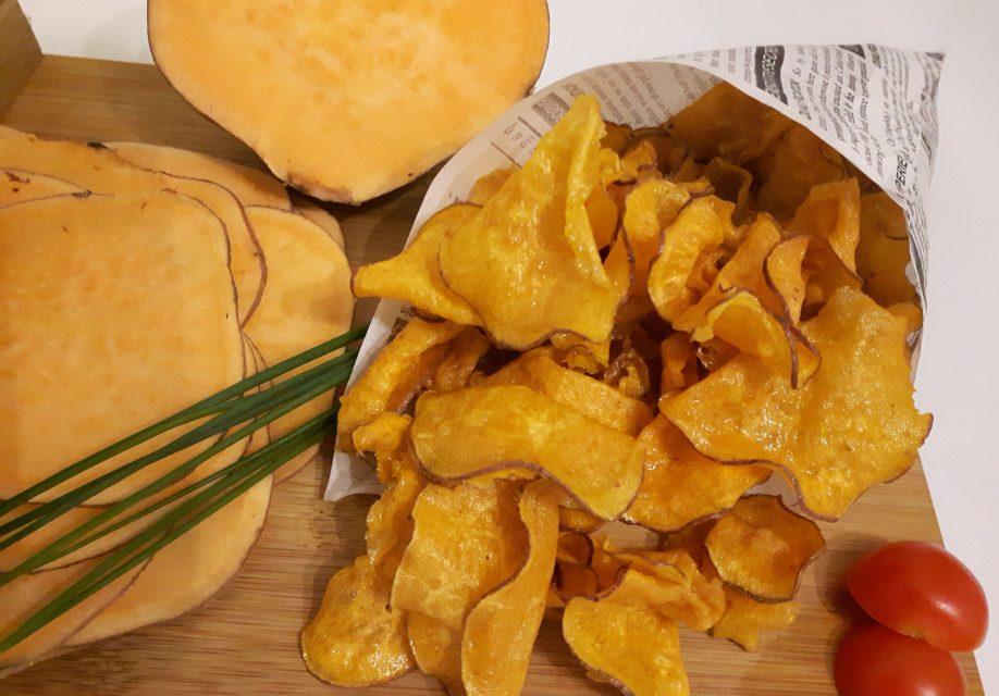 Süßkartoffel-Chips